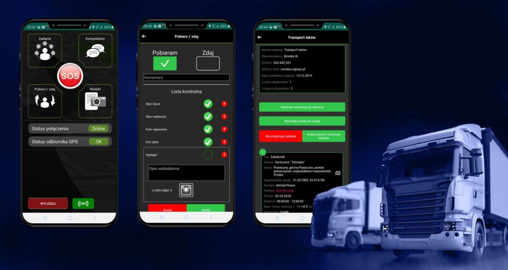 Aplikacja Elcar Driver na szybkie zlecenia - bez formalności dodawaj szybko kierowców do swojej floty